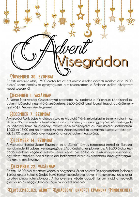Visegrád TE - Advent Visegrádon