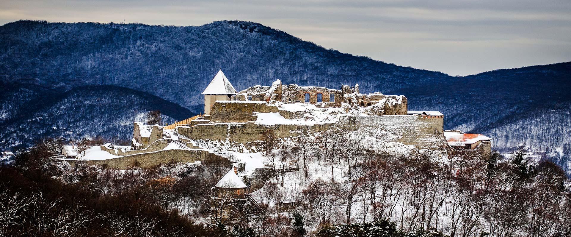 A téli Visegrád